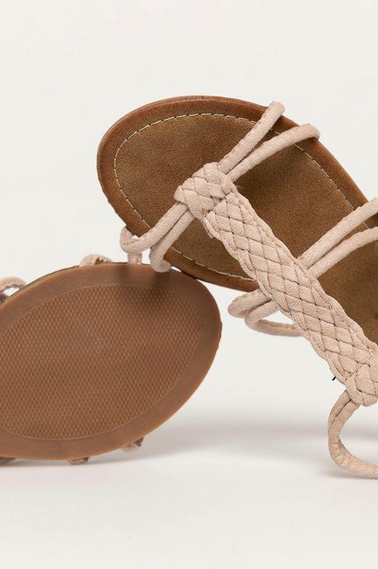 béžová Answear Lab - Sandále Bottine