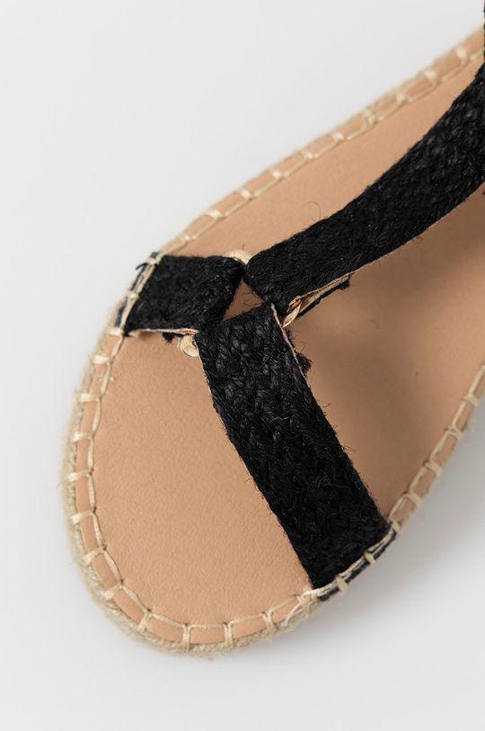 černá Answear Lab - Sandály simius