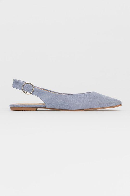 niebieski Answear Lab - Baleriny Seastar Damski