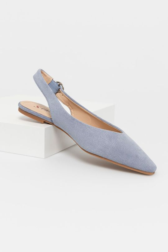 Answear Lab - Baleriny Seastar niebieski