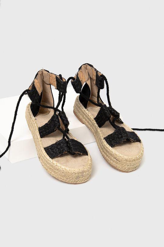 Answear Lab - Sandały Woman Key czarny