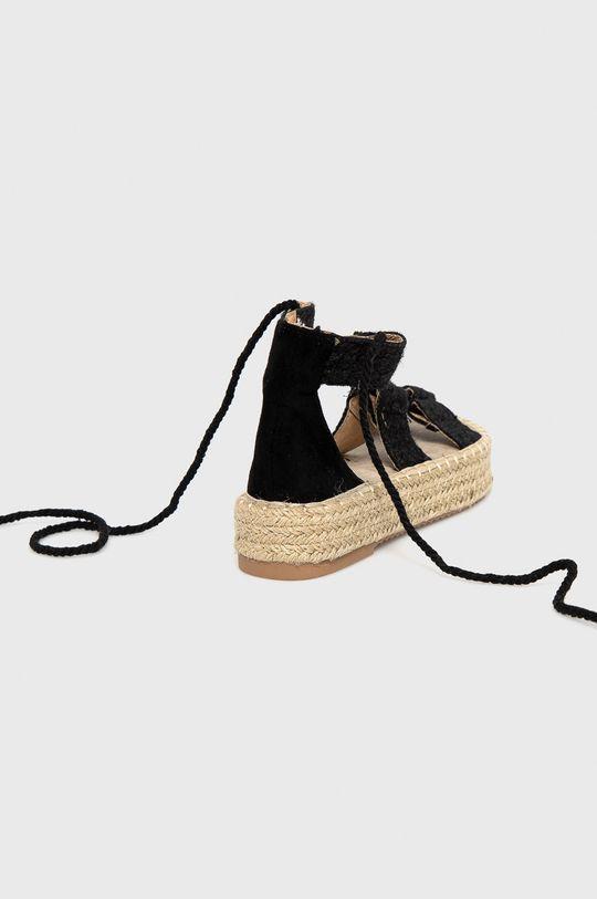 Answear Lab - Sandały Woman Key Cholewka: Materiał tekstylny, Wnętrze: Materiał syntetyczny, Materiał tekstylny, Podeszwa: Materiał syntetyczny