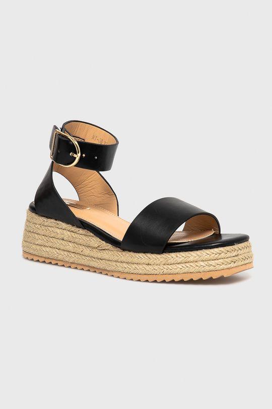 Answear Lab - Sandály Woman Key černá