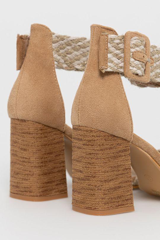 Answear Lab - Sandale Erynn  Gamba: Material textil Interiorul: Material sintetic, Material textil Talpa: Material sintetic