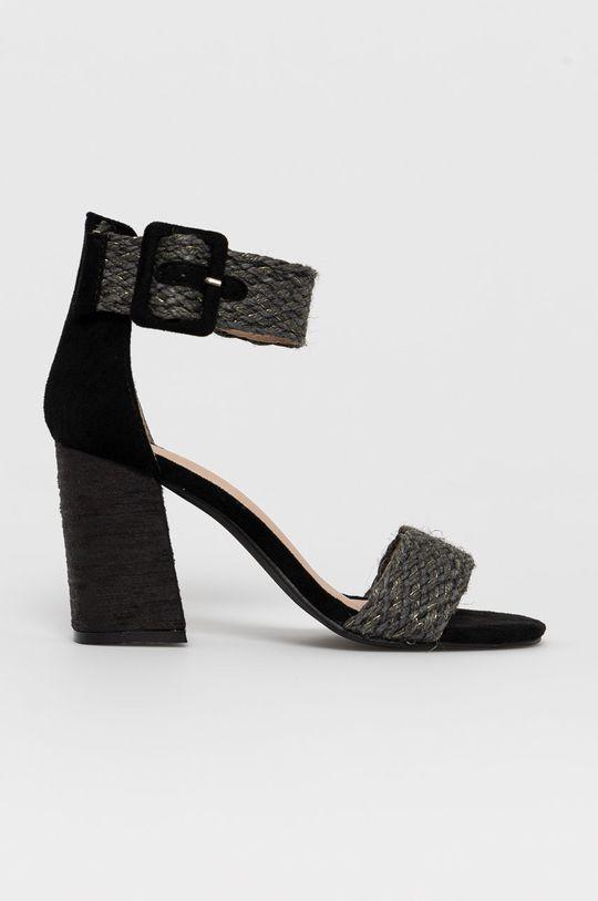 čierna Answear Lab - Sandále Erynn Dámsky