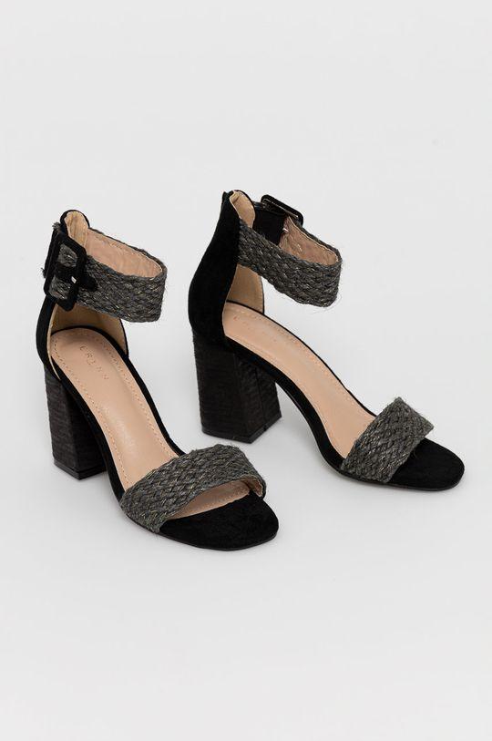 Answear Lab - Sandále Erynn čierna