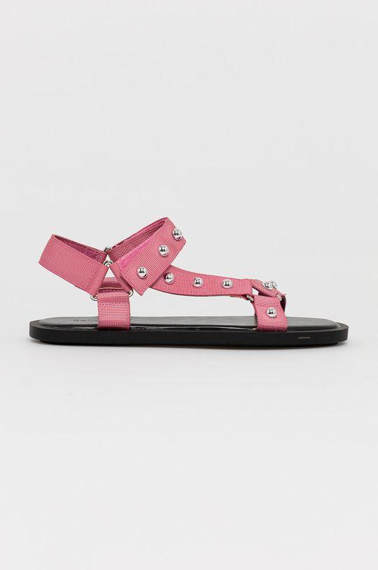 roz Answear Lab - Sandale De femei