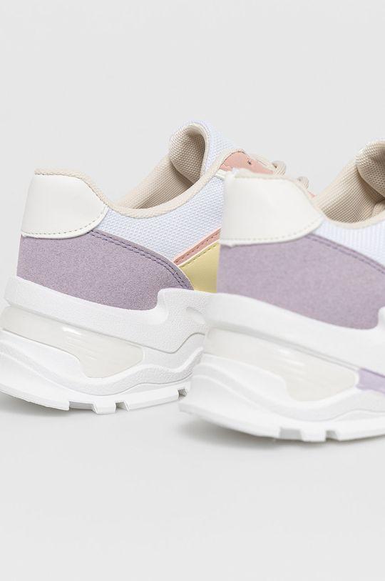 Answear Lab - Pantofi Marquiz  Gamba: Material sintetic, Material textil Interiorul: Material textil Talpa: Material sintetic