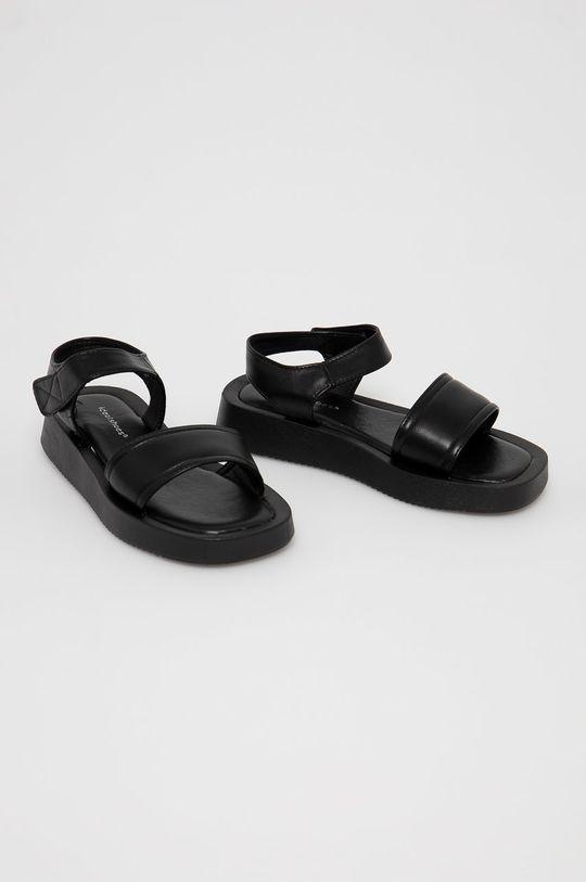 Answear Lab - Sandale IDEAL SHOES negru