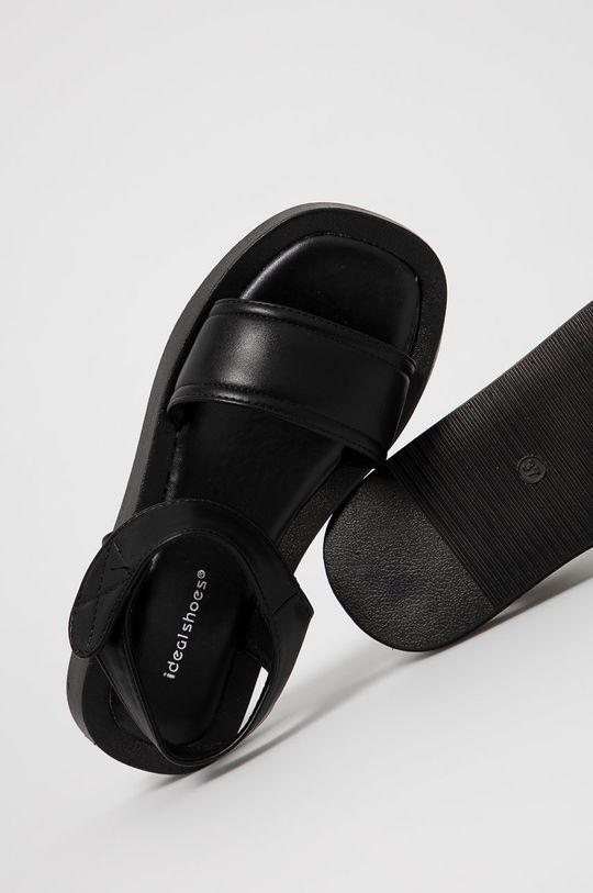 negru Answear Lab - Sandale IDEAL SHOES