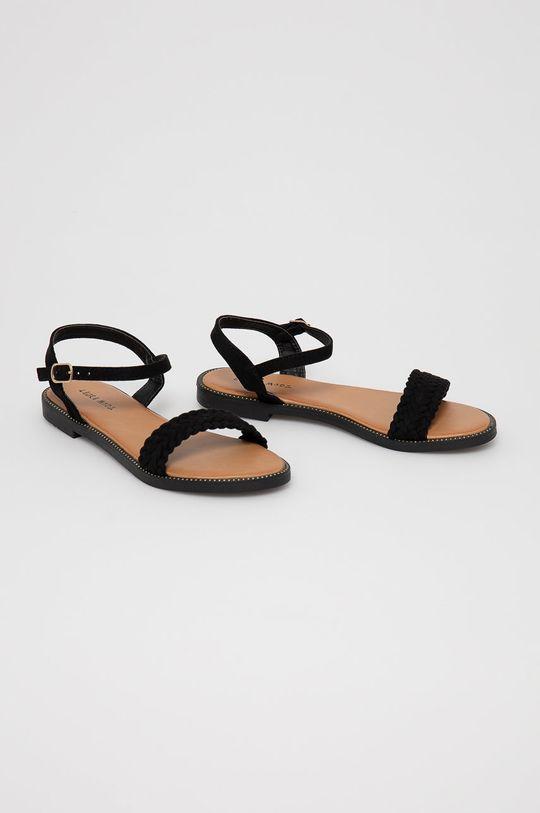 Answear Lab - Sandale Laura Mode negru