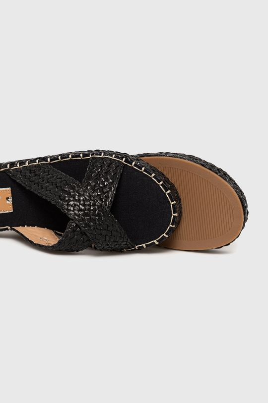 Answear Lab - Papuci lov'it  Gamba: Material textil Interiorul: Material sintetic, Material textil Talpa: Material sintetic