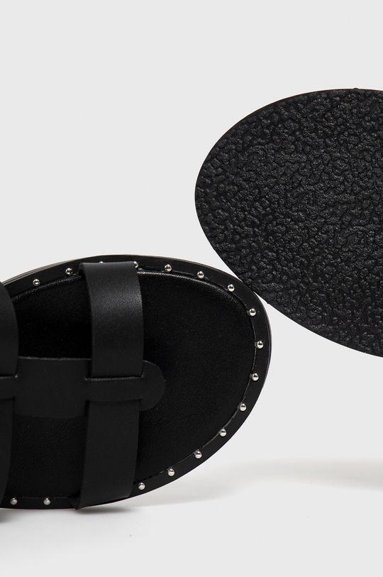 czarny Answear Lab - Sandały Lily Shoes