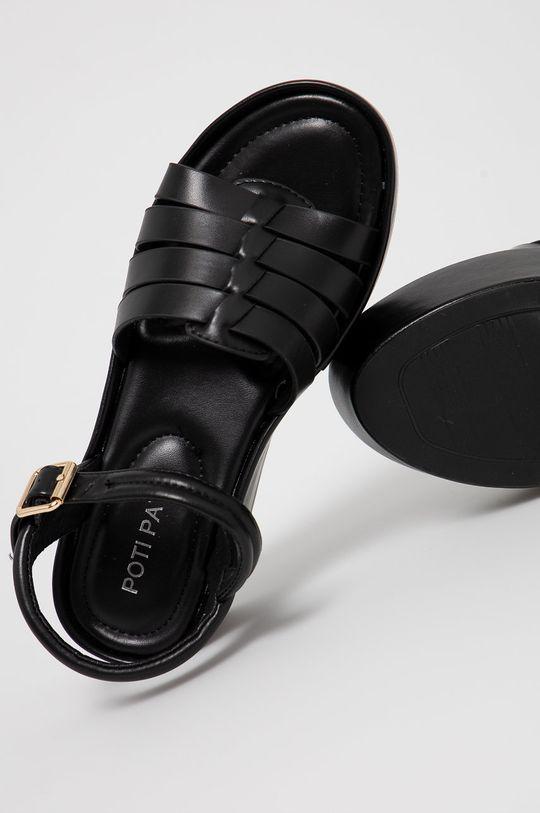 czarny Answear Lab - Sandały POTI PATI