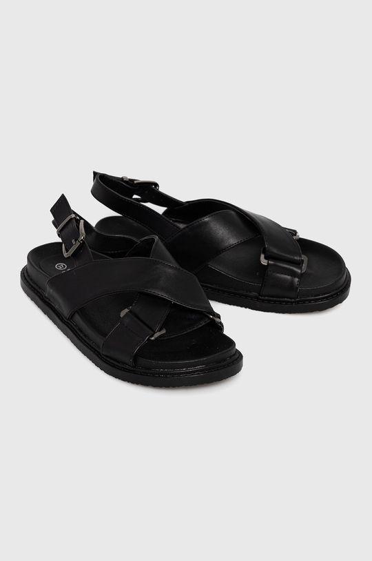 Answear Lab - Sandały La Bottine czarny