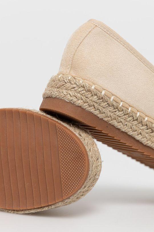 Answear Lab - Espadrilky La donna  Svršek: Textilní materiál Vnitřek: Textilní materiál Podrážka: Umělá hmota