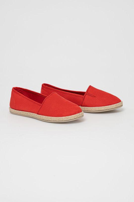 Answear Lab - Espadrilky červená