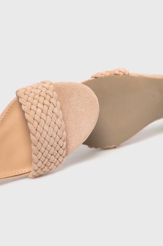 béžová Answear Lab - Sandále Sunsea
