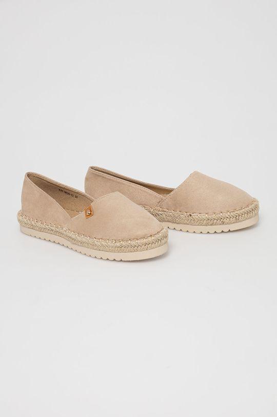 Answear Lab - Espadrilky Best Shoes béžová
