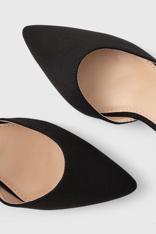 czarny Answear Lab - Sandały La Bottine