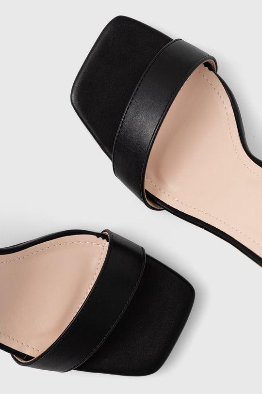 czarny Answear Lab - Sandały Diamentique