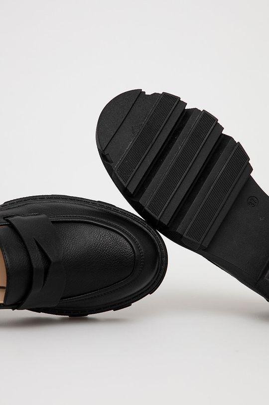 czarny Answear Lab - Mokasyny Diamentique