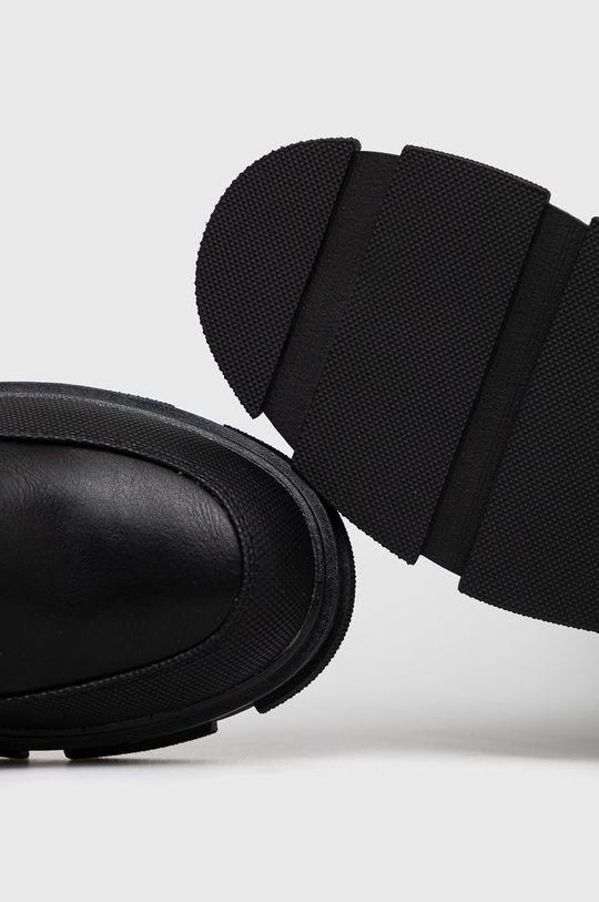 czarny Answear Lab - Kozaki