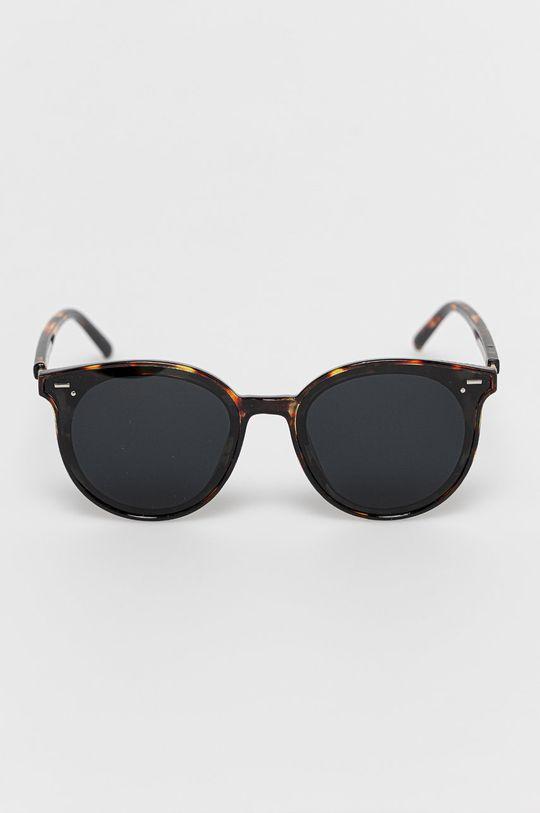 Answear Lab - Okulary przeciwsłoneczne brązowy