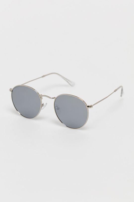 srebrny Answear Lab - Okulary przeciwsłoneczne Damski