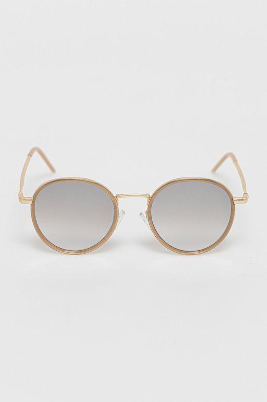 Answear Lab - Okulary przeciwsłoneczne beżowy