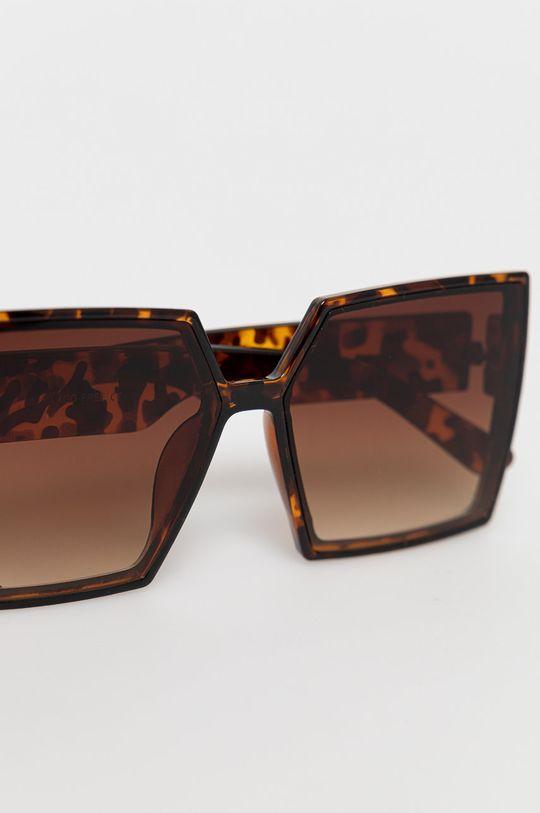 Answear Lab - Okulary przeciwsłoneczne 20 % Metal, 80 % Plastik