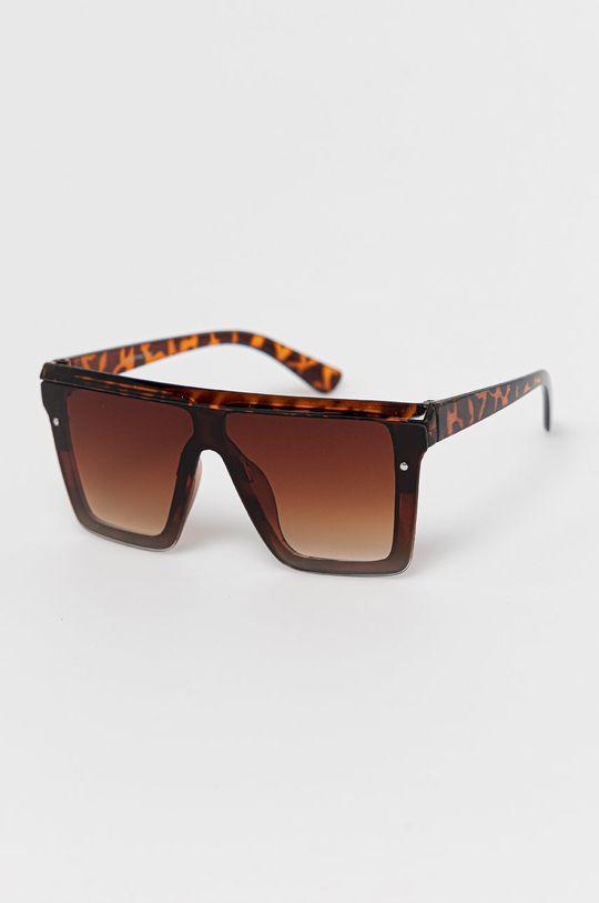 brązowy Answear Lab - Okulary przeciwsłoneczne Damski