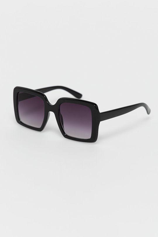 kasztanowy Answear Lab - Okulary przeciwsłoneczne Damski