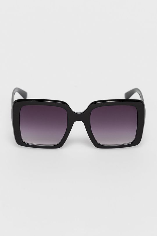 Answear Lab - Okulary przeciwsłoneczne kasztanowy