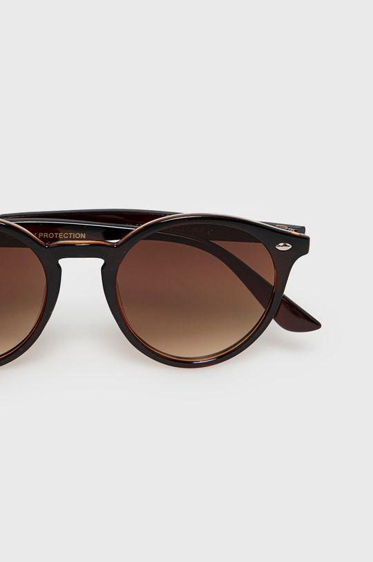 Answear Lab - Slnečné okuliare  20% Kov, 80% Umelá hmota