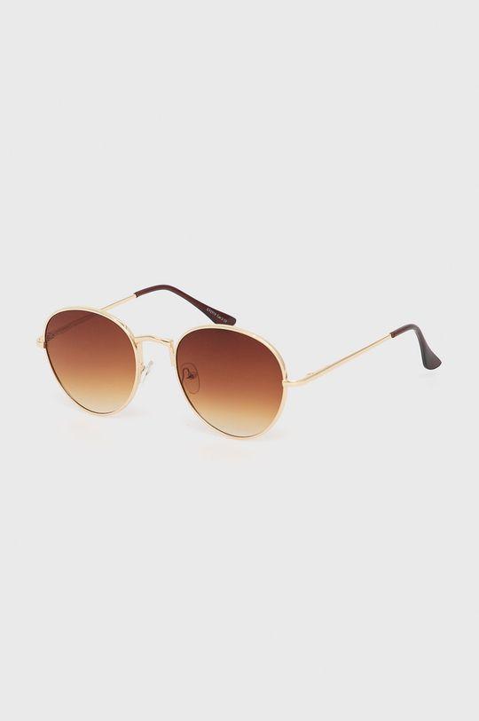 hnedá Answear Lab - Slnečné okuliare Dámsky