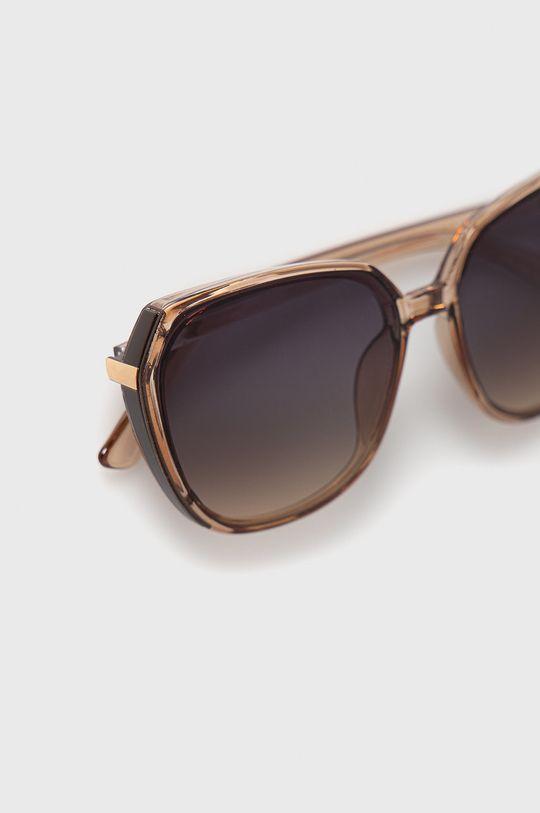 Answear Lab - Okulary przeciwsłoneczne 100 % Plastik