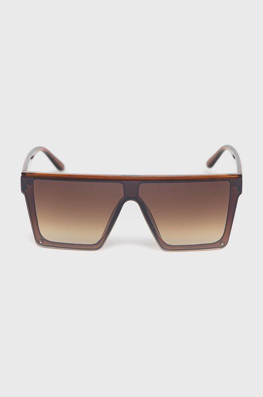 Answear Lab - Sluneční brýle hnědá