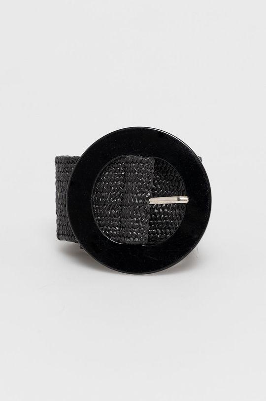 czarny Answear Lab - Pasek Damski