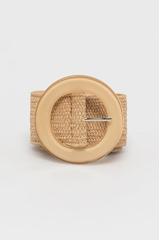 złoty brąz Answear Lab - Pasek Damski
