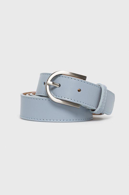 niebieski Answear Lab - Pasek skórzany Damski