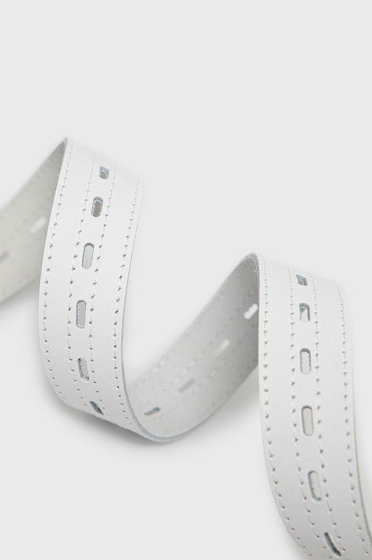 Answear Lab - Kožený opasok biela