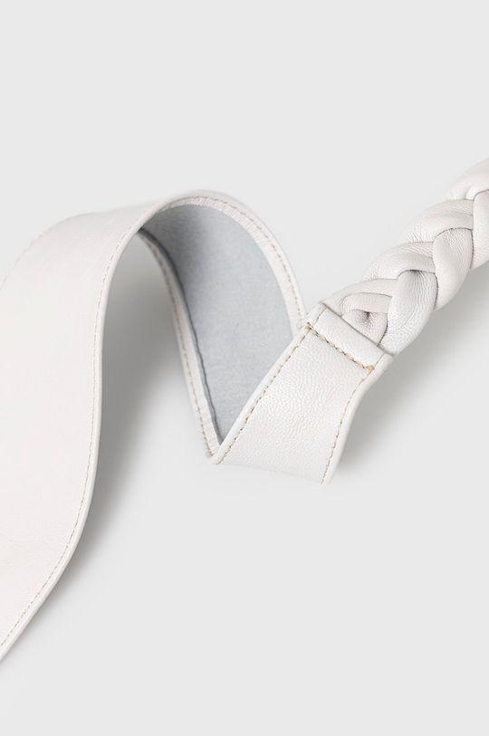 biela Answear Lab - Kožený opasok Dámsky