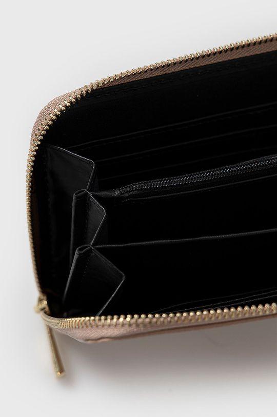 ružová Answear Lab - Kožená peňaženka