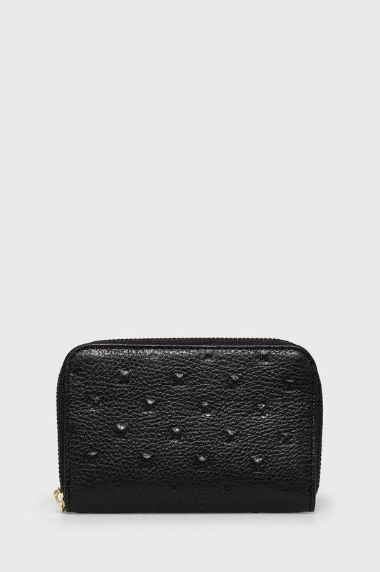 fekete Answear Lab - Bőr pénztárca Női