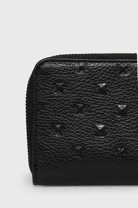 Answear Lab - Bőr pénztárca fekete