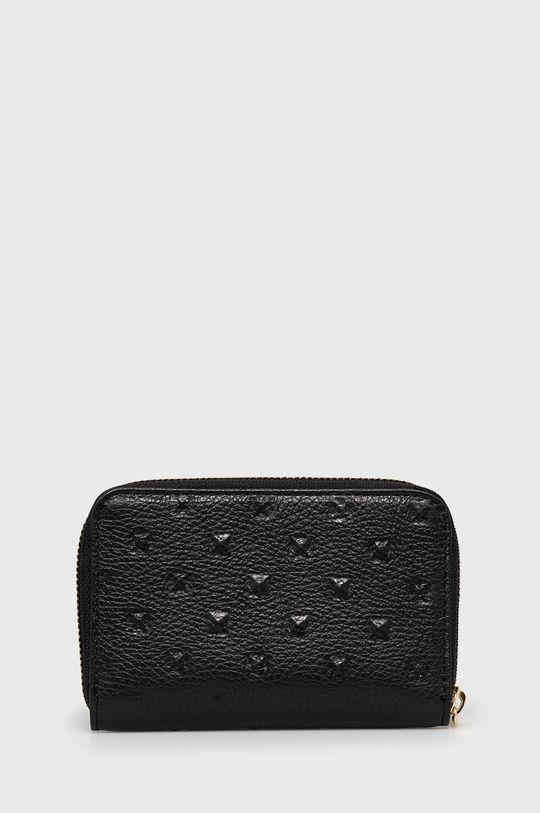 Answear Lab - Bőr pénztárca  100% természetes bőr