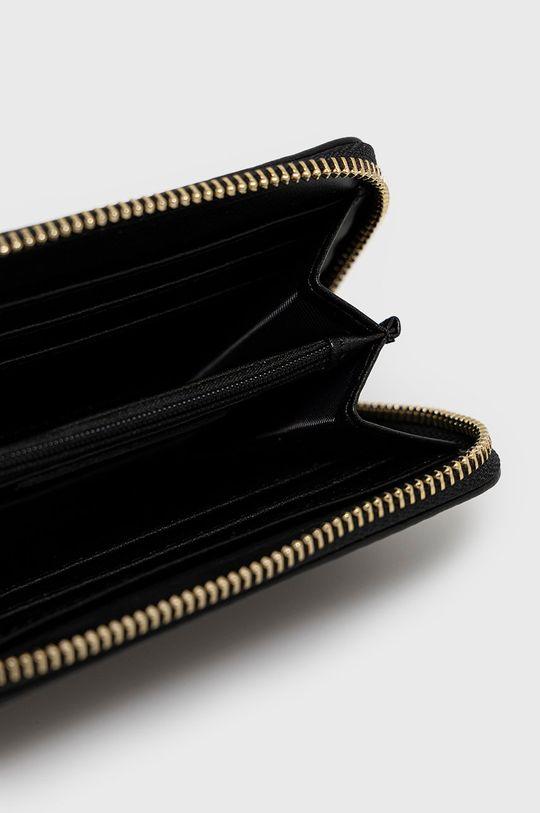 fekete Answear Lab - Bőr pénztárca