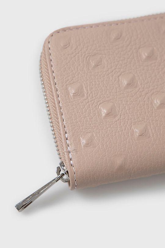 Answear Lab - Kožená peněženka růžová