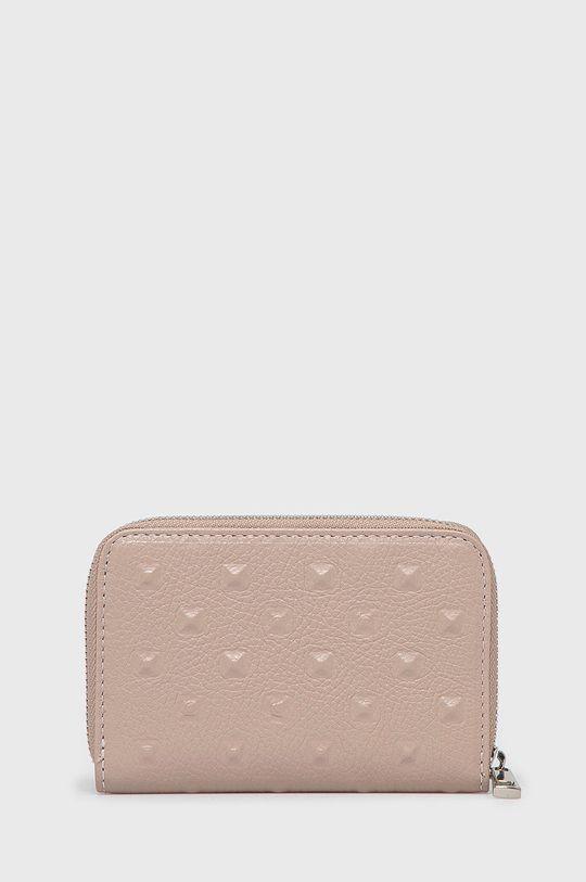 Answear Lab - Kožená peněženka  100% Přírodní kůže